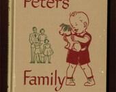1949 Peter's Family - TEACHERS EDITION - Dick and Jane series Social Studies Book A - 1st grade school reader - near fine - unused