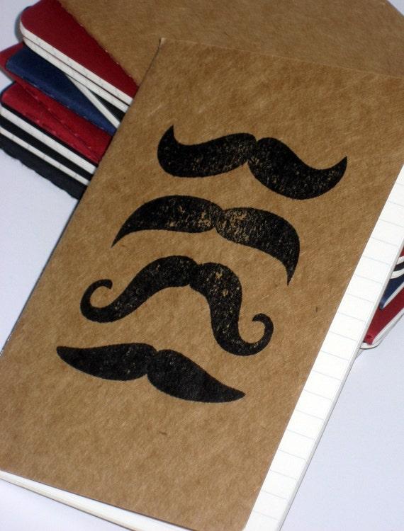 Mustachioed Moleskine