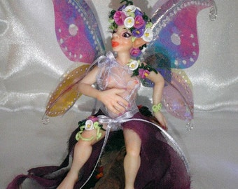 Hand made OOAK pregnant fairy goblin Cala by KDL