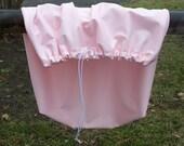 Drawstring Wet Bag / Diaper Pail Liner / Beach Bag - Large - Pink