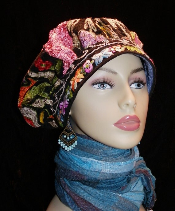 Hat Gypsy Rembrandt Multicolor World Peace Hat
