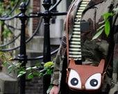 LA LISETTE / Fox Bag / Original Design / foxy bag / leather bag / animal bag / shoulder bag / hand bag / women's bag