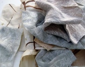 Fabric grab bag: taupe mix, lots of linen