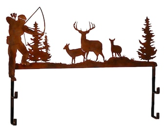 Traditional Deer Bow Rack