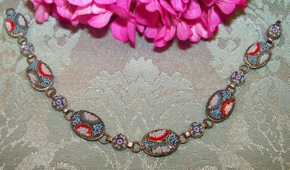 Antique ITALIAN MICRO MOSACI Bracelet