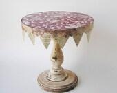 Handmade Wood Cake Stand