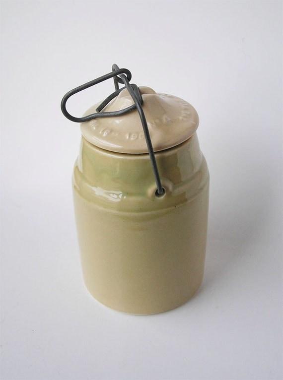 Ceramic Canning Jar