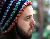In Rainbows Knitted Accordion Slouch (Made to Order)
