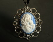 madonna of the streets ferruzzi cameo pendant