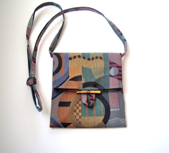 Bag Purse Graphic Print Pouch Sac Small Upholstery