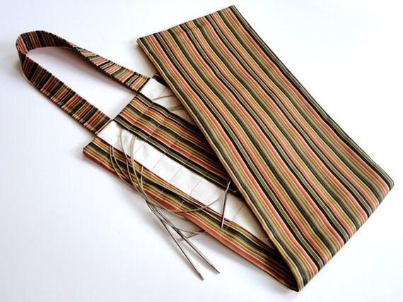 Circular Knitting Needle Storage Organizers : Hanging circular knitting needle organizer by