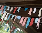 CUSTOM Fabric Flag Garlands