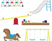 Playground Set Clip Art Design Package