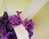 RESERVED FOR HILARY Lilac breeze - Floral pomander