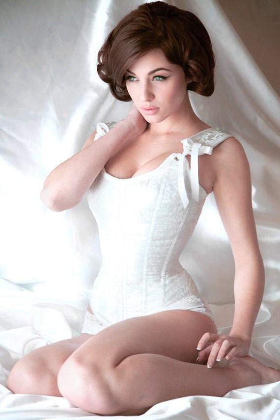 Meschantes Ready to Wear Antoinette Bridal Corset Your Size