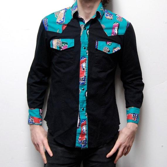 SOUTHWESTERN long sleeve UNIQUE western shirt