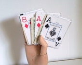 Playing Card Wallet - Spade