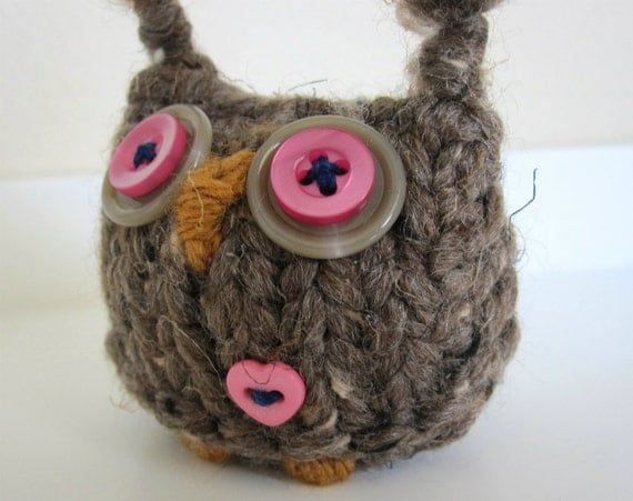 PaperWeight- Wooly Silly Owl