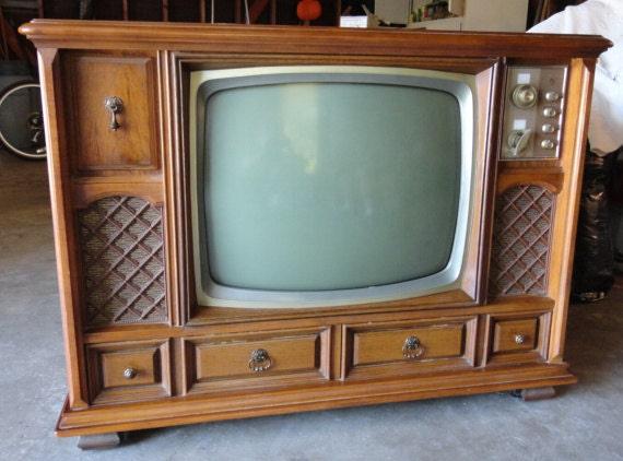 Items similar to sale vintage magnavox console t v