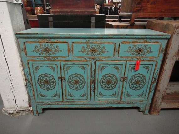 Items Similar To Asian Inspired Media Stand Console Table