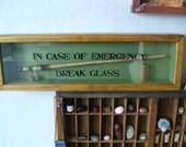 Witch Wand - In Case of Emergency Break Glass  Wall Decor