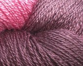 Hand Painted Seacell and Silk Lace Yarn