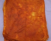 Hand Dyed Silk Mawata (Silk Hankies)