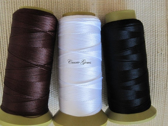 Beading Polyester Thread  ----- Small Size, 1 Roll
