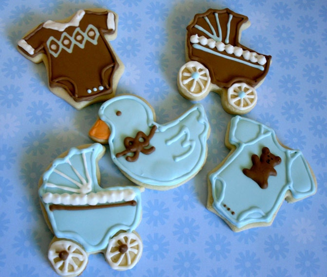 baby shower favors baby boy blue and brown 1 by charmingtreats4you