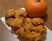 Organic Pumpkin Chocolate Chip Cookies