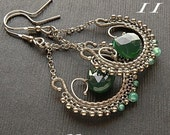 Tutorial II- wire-wrapped earrings step by step