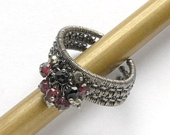 Tutorial - wire-wrapped ring step by step PDF file