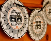 PRINTABLE Vintage Halloween Party Banner - Jennifer Carroll Designs