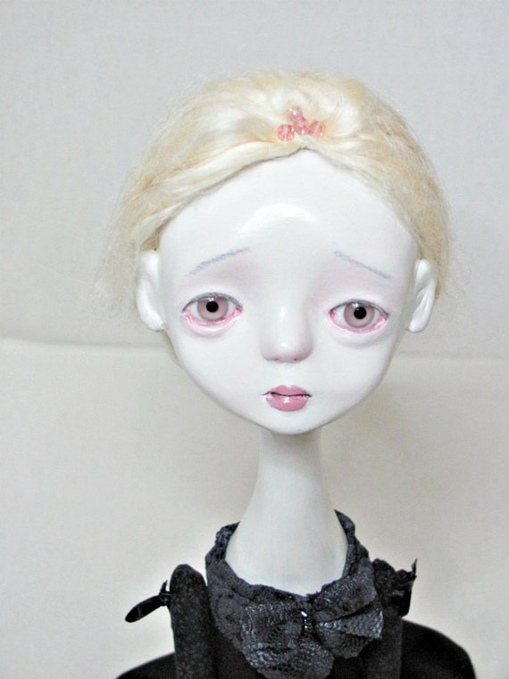 OOAK Jointed Art Doll -Aglaia