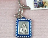 ST.  JUDE   Medal  Key  Chain kc2 Medal for Hope