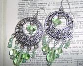 Breezy Bohemian Chandelier earrings