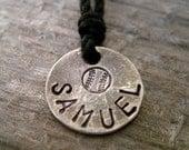 Boys Jewelry-  Boys Necklace- Boy First Communion- Boy Birthday Gift