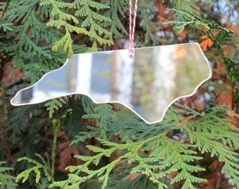 North Carolina State Christmas Ornament NC Decoration Handmade Ornament Christmas Tree Decor
