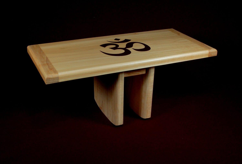 Yoga Meditation Bench Stool Seiza Bench Piypec Om