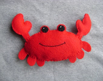 Red Crab Stuffed Toy