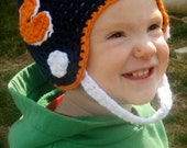 football helmet - newborn to 4t - PATTERN ONLY
