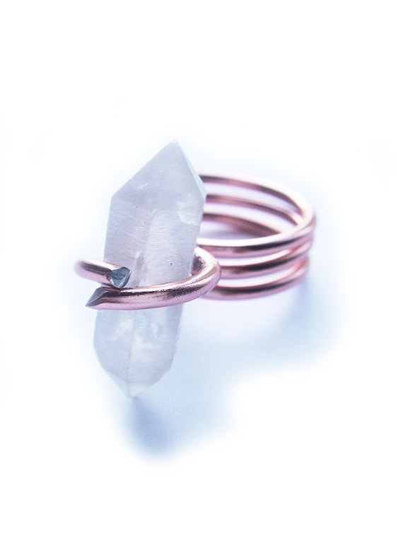 One of a Kind Herkimer Diamond Ring