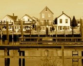 Fine Art Photography Print / Bowers Beach Cottages on the Murderkill River