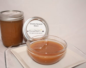 Creamy Small Batch Handmade Caramel Sauce - 8oz  - So YummY