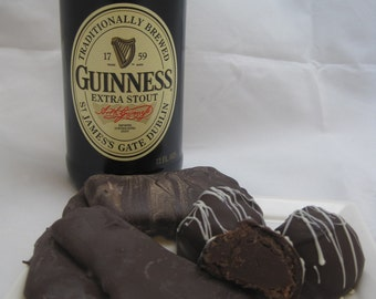 Man Pack - Callebaut Guinness Truffles and Dark Chocolate Covered Bacon