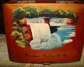 Vintage Niagara Falls N.Y. Souvenir Box