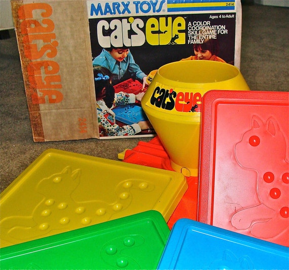 Vintage Toys And Games : Vintage s game cat eye by marx toy co