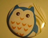 Owl pocket mirror 3