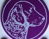 Breed Specific Dog ID -- Laser Engraved -- Personalized  (Made in the USA)