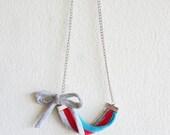 MOSHKA - recycled/upcycled tshirt necklace